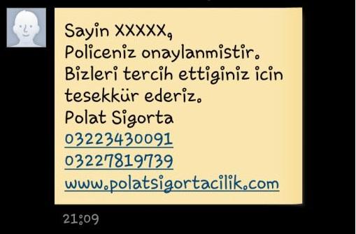 adana_sigorta_sms_bilgilendirme